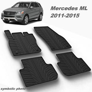 Gumeni auto tepisi za Mercedes ML - komplet prednji i zadnji