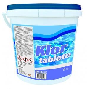 Klor  tablete za bazene ,5 kg (tablete)
