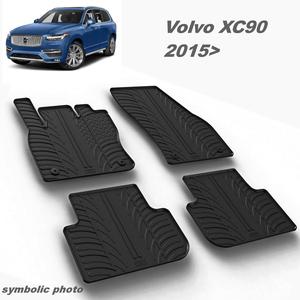 Gumeni auto tepisi za Volvo XC90 - komplet prednji i zadnji
