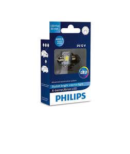 Philips auto žarulja kabina led 30mm 4000K 1W/12V