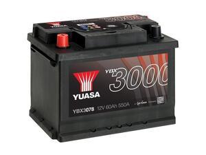 Akumulator Yuasa (3000 Premium) 12V/60Ah L+