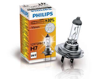 Philips auto žarulja H7 55W/12V Vision
