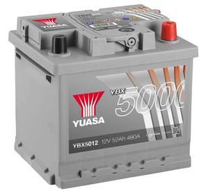 Akumulator Yuasa (5000) 12V 52Ah D+