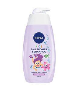 Nivea Kids 2u1 gel za tuširanje za djevojčice s pumpicom
