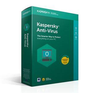 Kaspersky Anti-Virus za 3 računala - obnova za dodatnu godina dana