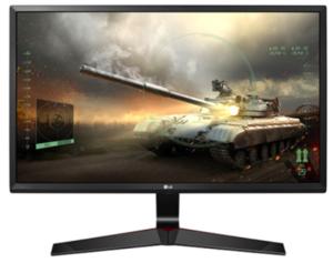 LG monitor 24MP59G-P, IPS, 1ms, HDMI, DP, 75Hz