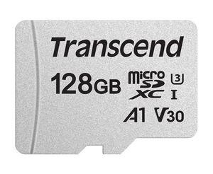 Memorijska kartica Transcend microSD 128GB HC Class UHS-I U3 + SD adapter 300S
