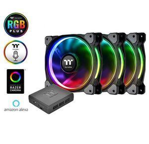 Hladnjak za kućište Thermaltake Riing Plus 12 RGB (3 komada + HUB)