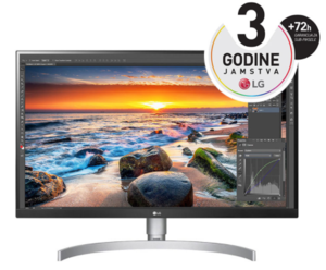 LG monitor 27UL850-W, IPS, 4K, HDMIx2, USB, DP, Ultra HD