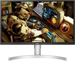 LG monitor 27UL550-W, IPS, 4K UHD, DP, HDMI, 75Hz, FreeSync