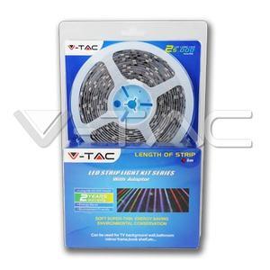 V-TAC Set LED traka SMD5050 30 LEDs RGB IP20
