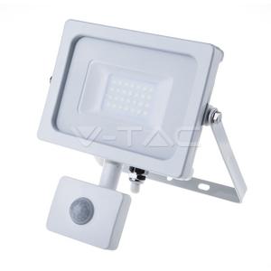 V-TAC 20W LED reflektor sa senzorom Samsung čip 6400K IP65 - 5 GODINA GARANCIJE
