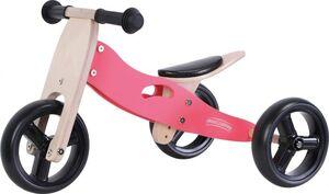 Free2Move drveni školski tricikl 2 u 1 crveni