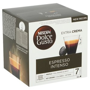 Nescafe DolceGusto kafa Intenso esspresso 112 g