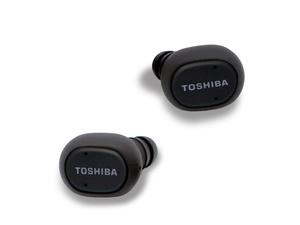TOSHIBA Earbuds RZE-BT800E slušalice, BT, vodootporne, gumirane/crne