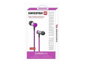 SWISSTEN SUPERBASS YS900 slušalice, In-ear, roze