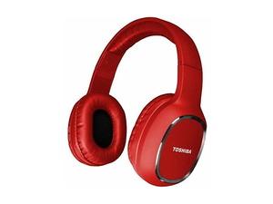 TOSHIBA RZE-BT160H slušalice, Bluetooth, crvene