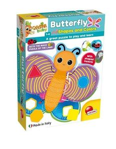 Lisciani boje i oblici puzzle leptir