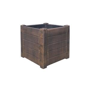 ROTO TEAK S cvjetna tegla - imitacija drva (400 x 400 x 400 mm)