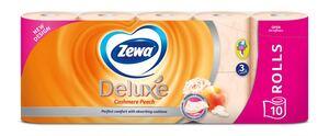 Zewa aqua tube, deluxe  breskva 10 rola, toaletni papir