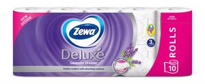 Zewa aqua tube, deluxe lavander dreams, 10 rola, toaletni papir