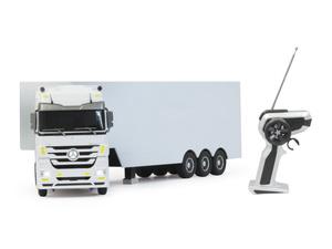 Jamara kamion na daljinsko upravljanje, šleper Mercedes Arocs, bijeli 1:32