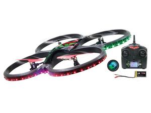 Jamara drone Flyscout AHP+, kamera, LED, Turbo, Headless-Flyback, crni