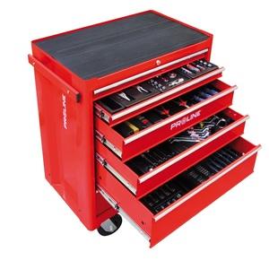 PROLINE mehaničarska kolica za alat s alatom 5-ladica 193-djelna - 33116