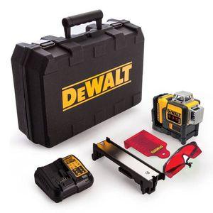 DEWALT akumulatorski laserski križni nivelir 10,8V 1x2,0Ah - DCE089D1G