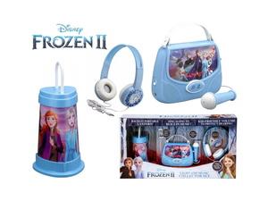 FROZEN II set karaoke, mikrofon, slušalice i svjetiljka FR300