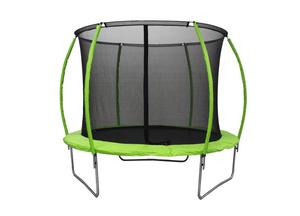 LEGONI trampolin SPACE sa zaštitnom mrežom, 425cm-zeleni