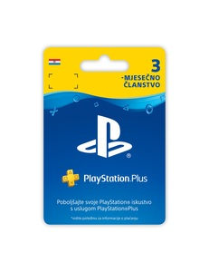 PlayStation Plus Card 90 Dana
