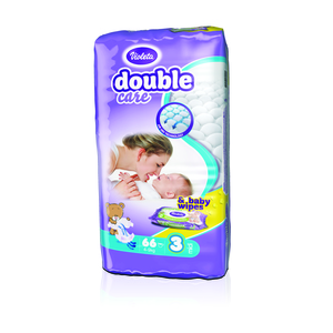 Violeta pelene DC AIR DRY MIDI-3 jumbo (4-9 kg., 66 kom)-gratis baby maramice