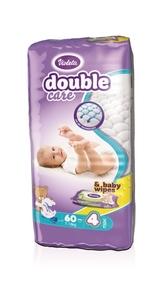Violeta pelene DC AIR DRY MAXI-4 jumbo (7-18 kg., 60 kom)-gratis  baby maramice