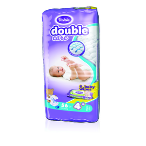 Violeta pelene DC AIR DRY MAXI PLUS- 4+ jumbo (9-20 kg., 56 kom)-gratis baby maramice