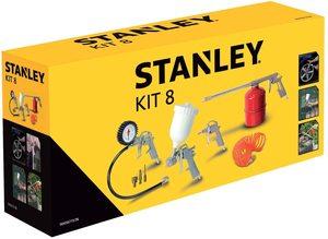 STANLEY set zračnog alata - 8 djelova za kompresore 9045671STN