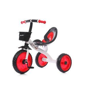 Chipolino tricikl Strike - red