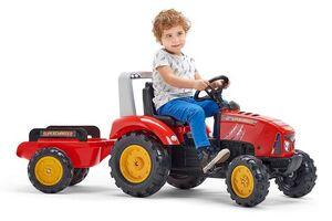 Falk traktor s prikolicom Supercharger - red