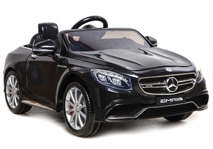 Licencirani auto na akumulator Mercedes S63 AMG crni