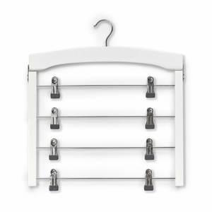 ZELLER vješalica za suknje, višestruka, drvo/metal, 39x43 cm 17162