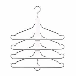 ZELLER vješalica za odjeću, višestruka, drvo/metal, 40x41 cm 17164