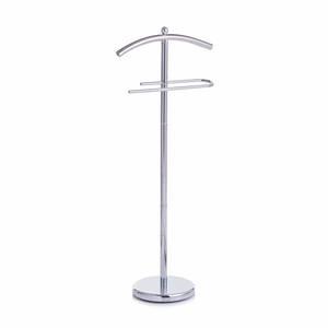 ZELLER držač za odjeću, metal, krom, 43x25,5x109 cm 17103