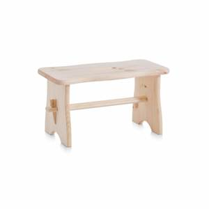 ZELLER drvena klupica, 39x19x21 cm 13130