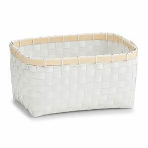 ZELLER košara za odlaganje, PP/bambus, 27x18x13,5 cm 14241