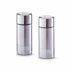 ZELLER set posuda za posipanje soli/papra, 3x7,5cm 27250