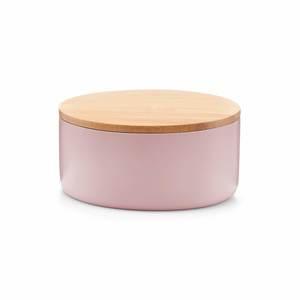 ZELLER kutija za nakit okrugla, polyresin, roza 18735