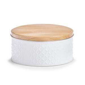 """ZELLER kutija """"Scandi"""", bijela, metalna, 19,5x9 cm 19336"""