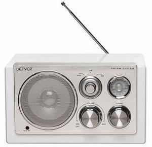 DENVER AM/FM radio TR-61 BIJELI