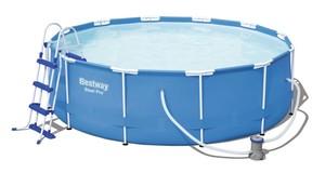 BESTWAY montažni bazen s filter pumpom i ljestvama - 366 x 100 cm