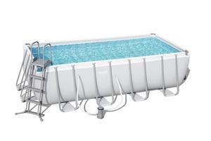 BESTWAY montažni bazen s filter pumpom i ljestvama - 488 x 244 x 122 cm